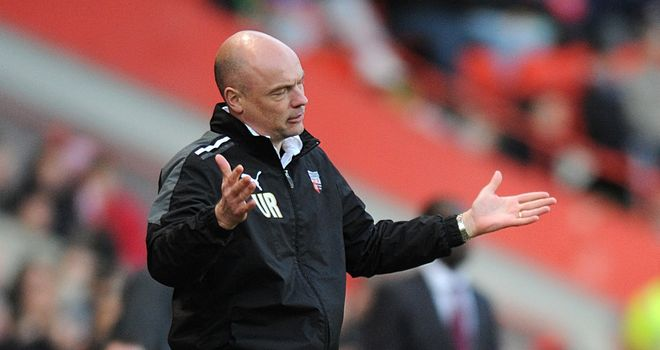 Uwe Rosler: Unfazed by shared result