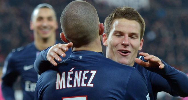 Kevin Gameiro wrapped up PSG's victory