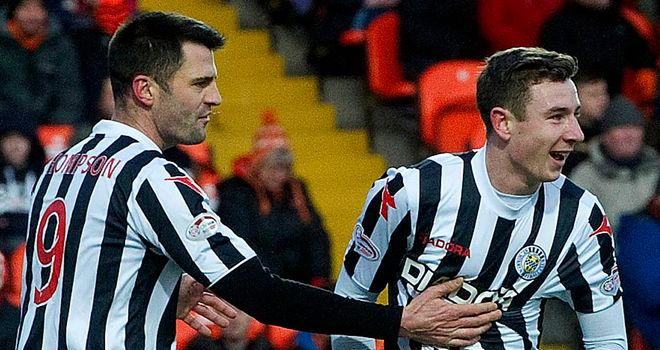Paul Dummett (right) has returned for a second loan spell at St Mirren