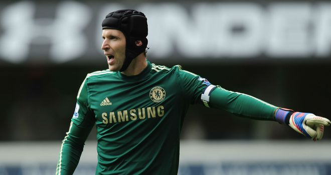Petr Cech: Suffered a groin injury in the 40th minute of Chelsea's win over Everton