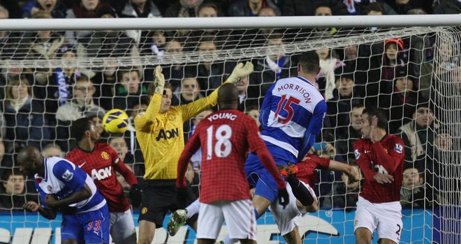 Manchester United won a 4-3 thriller against Reading in the Premier League in December