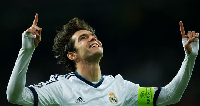 Kaka: Has stated his desire to remain at the Bernabeu