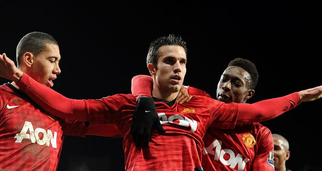 Robin van Persie: Sealed victory for the league leaders with late strike