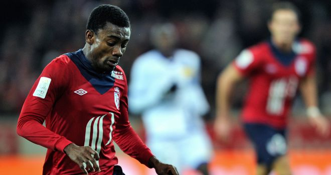 Salomon Kalou in action for Lille