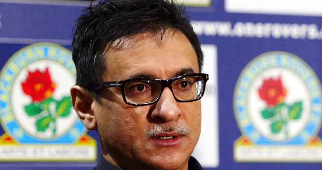 Shebby Singh: Held crisis talks with senior staff over Blackburn's form