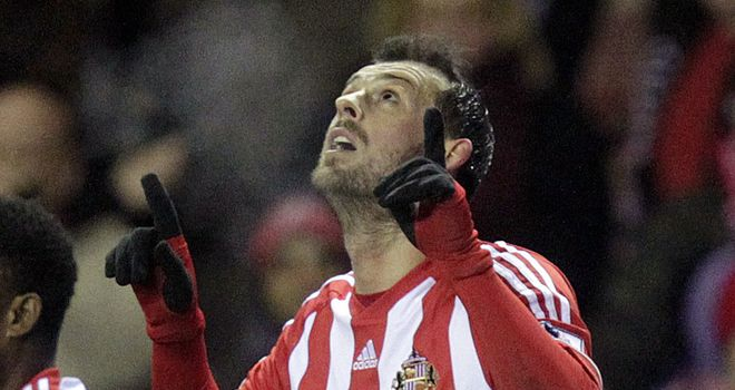 Steven Fletcher: Scored twice for Sunderland
