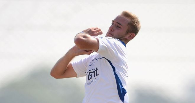 Stuart Broad: Fitness boost for England