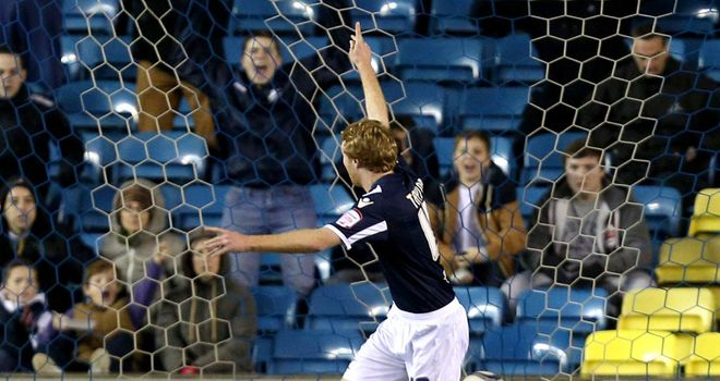 Chris Taylor: Equalised for Millwall