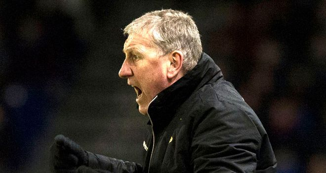 Terry Butcher has guided Inverness to second in the SPL at the halfway point