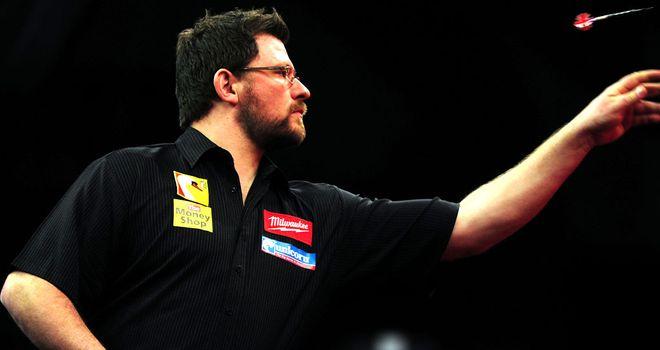 James Wade: Thrashed Peter Hudson 3-0 in World Championship opener
