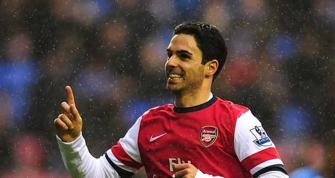 Mikel Arteta had a selection dilemma on the left wing