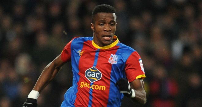 Wilfried Zaha: Manchester United among several Premier League suitors