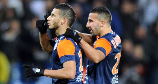 Younes Belhanda celebrates his goal