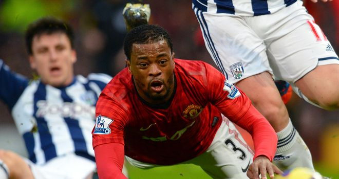 Patrice Evra welcomes the competition provided by Alexander Buttner