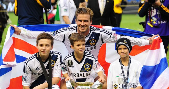 David Beckham: Rules out Australia move