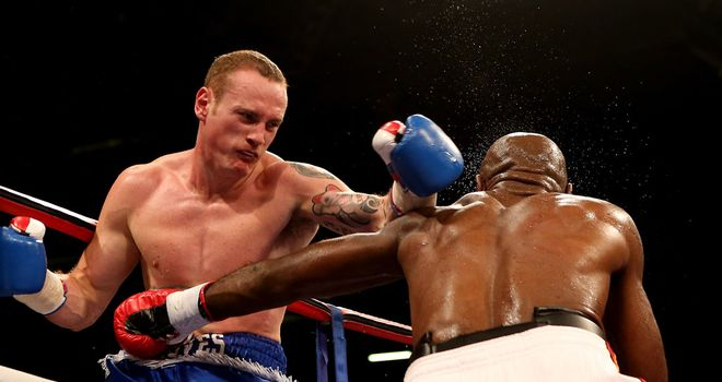 George Groves: One of many unable to break the spirit of Glen Johnson