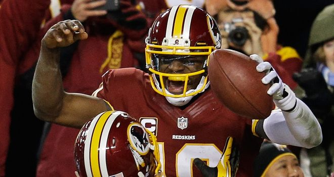 Robert Griffin III: Redskins taking it easy with star QB