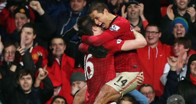 Javier Hernandez: String of late winners this season