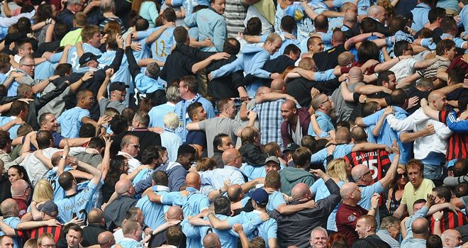 Some Manchester City fans may be standing at the Etihad soon