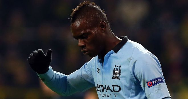Mario Balotelli: Not considered to be a January transfer target for AC Milan