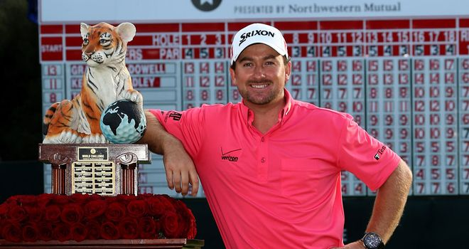 Graeme McDowell: World Challenge winner in 2012 and 2010