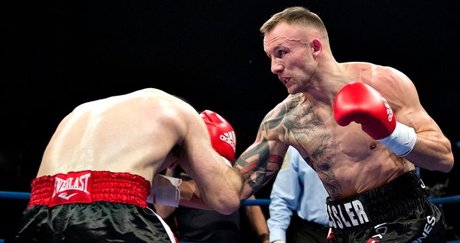 Mikkel Kessler: Ready for another gruelling fight with Carl Froch