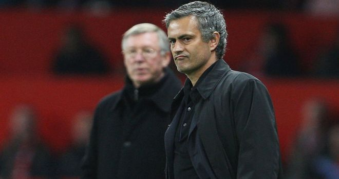 Jose Mourinho: The Real Madrid boss will take on old rival and friend Sir Alex Ferguson