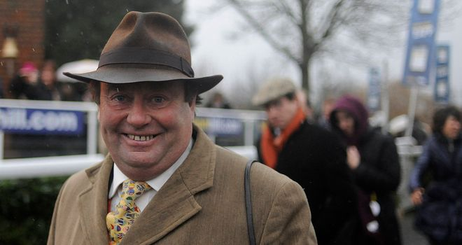Nicky Henderson: Still has two runners in the Super Saturday Chase