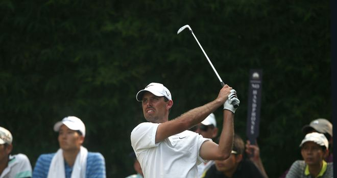 Charl Schwartzel: Four shots clear after second successive 65