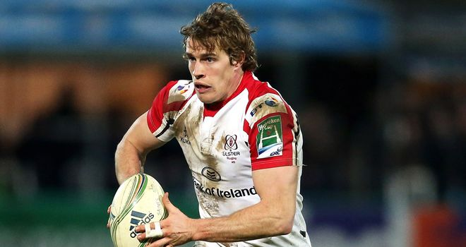 Andrew Trimble: Crossed for Ulster