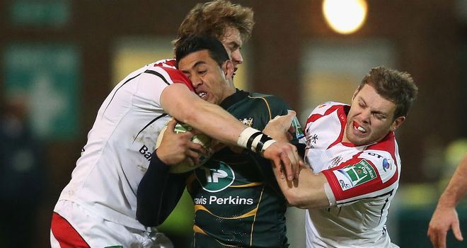 Saints crashed into a powerful Ulster side on Saturday