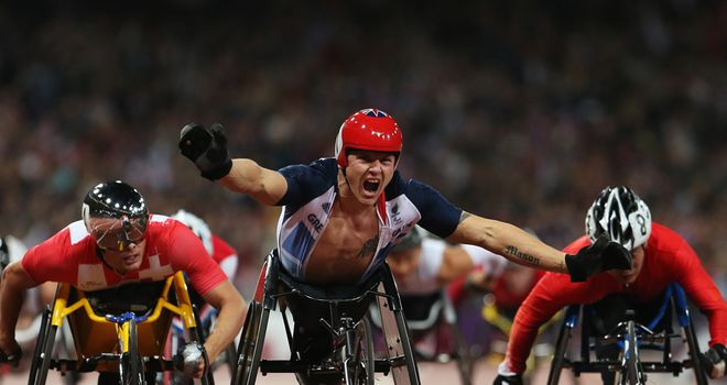 David Weir: Was inspirational part of the London 2012 Paralympics