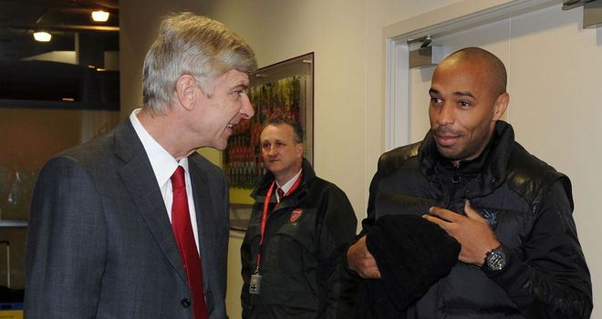 Arsene Wenger and Thierry Henry: Second reunion still a possibility