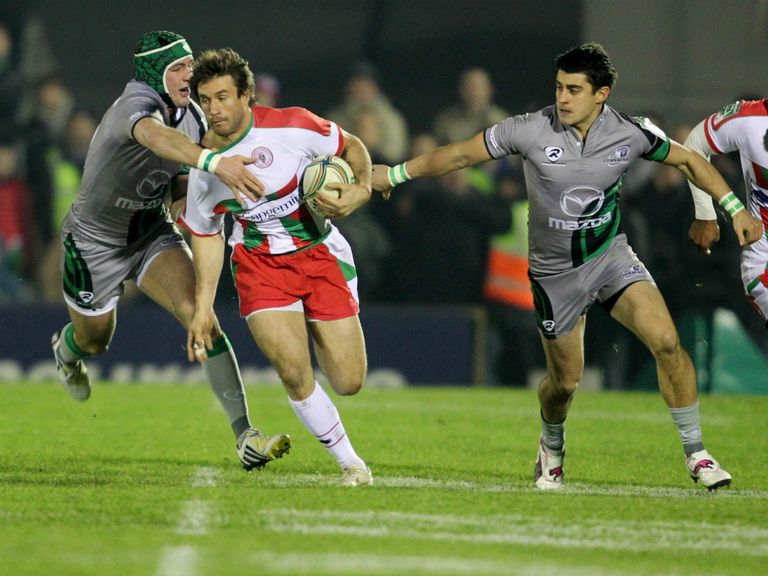 Biarritz were beaten by Connacht at the weekend