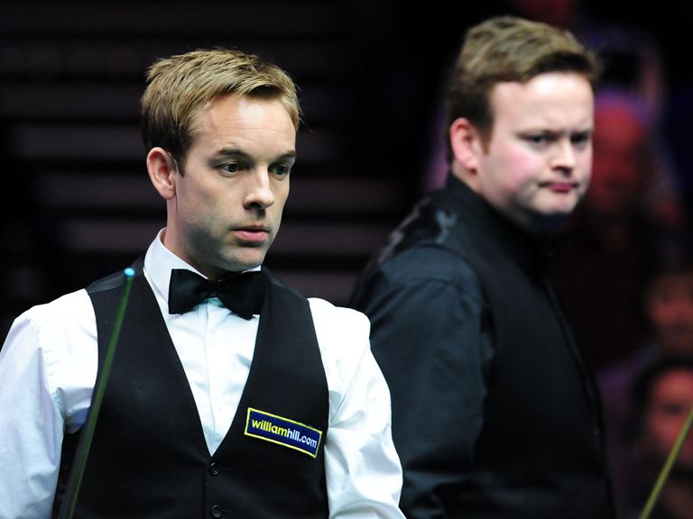Ali Carter couldn't hold off Shaun Murphy.