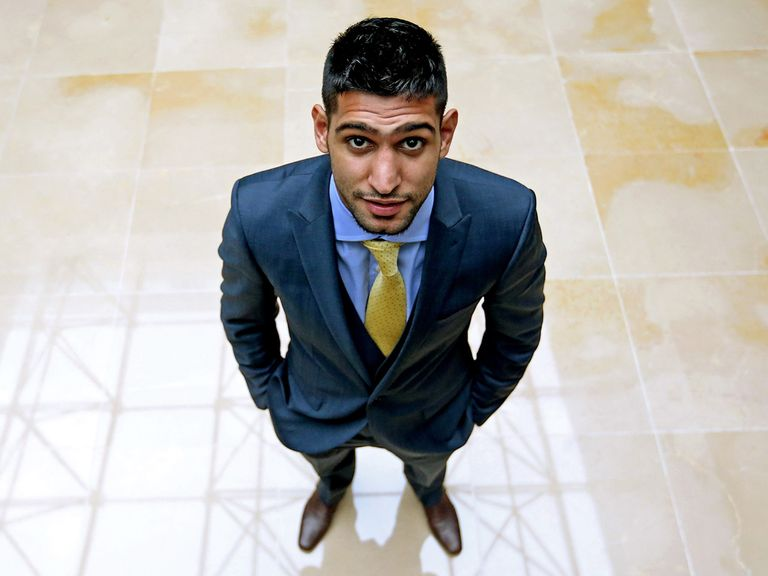 Amir Khan: Fights Carlos Molina on Saturday