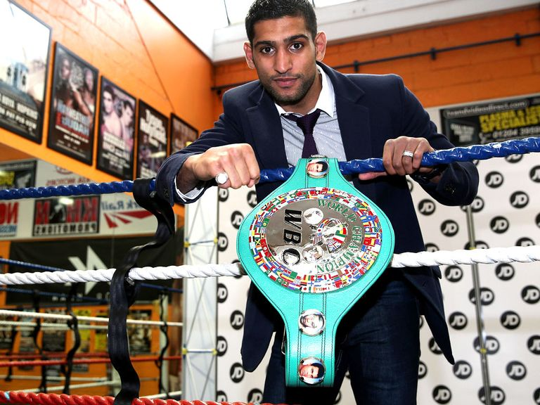 Amir Khan: Returning to fight in the UK