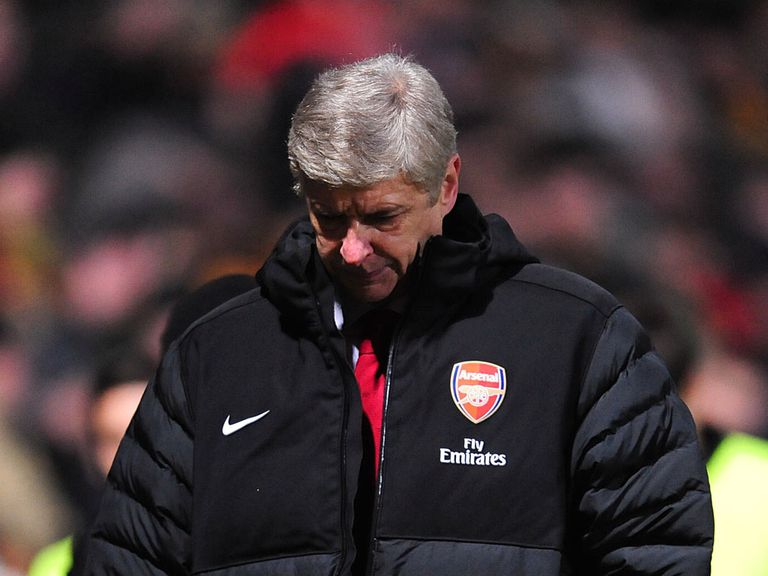 Arsene Wenger saw Arsenal suffer a shock defeat