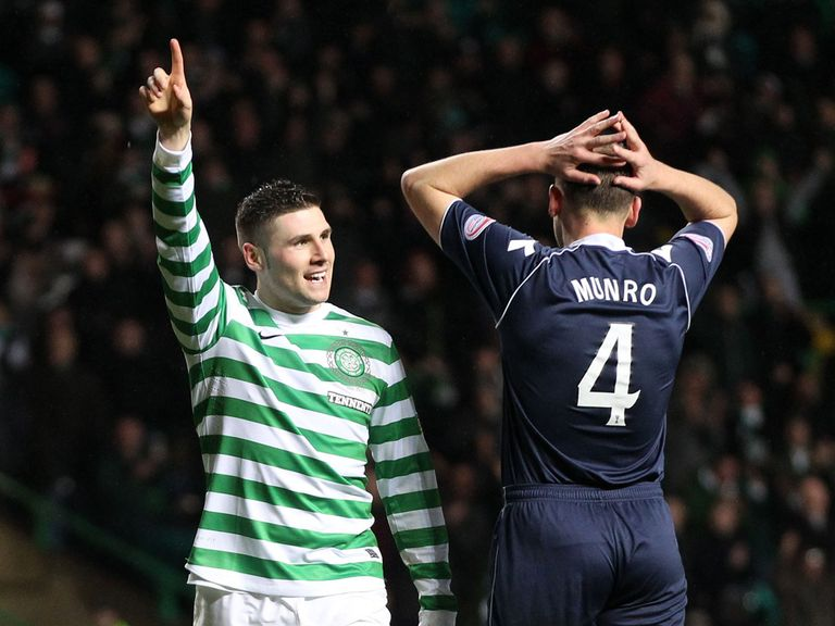 Gary Hooper: Double strike against Ross