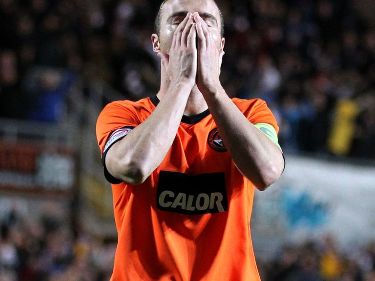 Sean Dillon: Major doubt for Dundee United