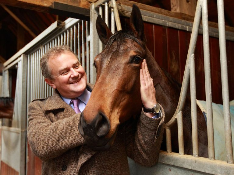 Hugh Bonneville: Has joined a Highclere Thoroughbred Racing syndicate