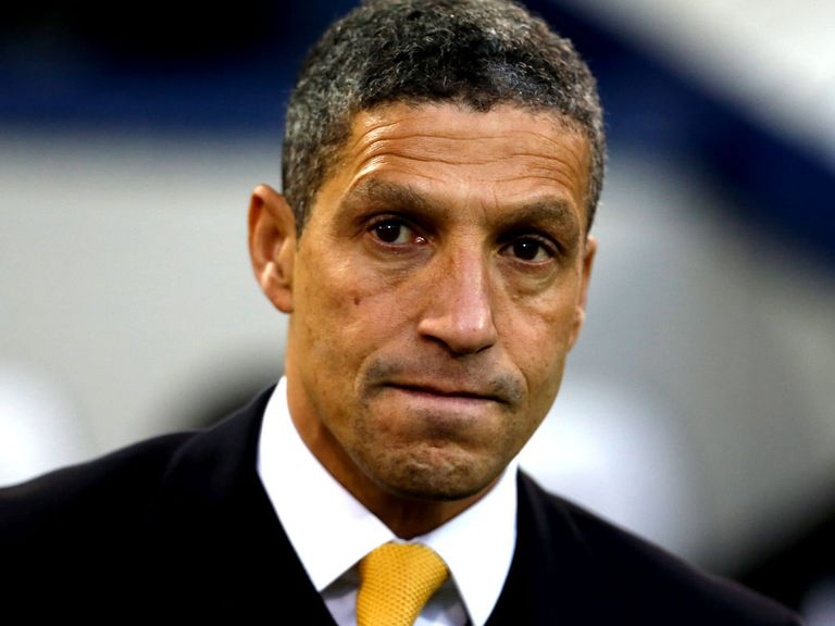 Hughton: Canaries host Blues