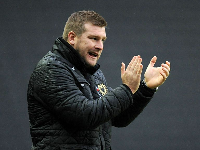 Karl Robinson: Goaded by Brentford fans