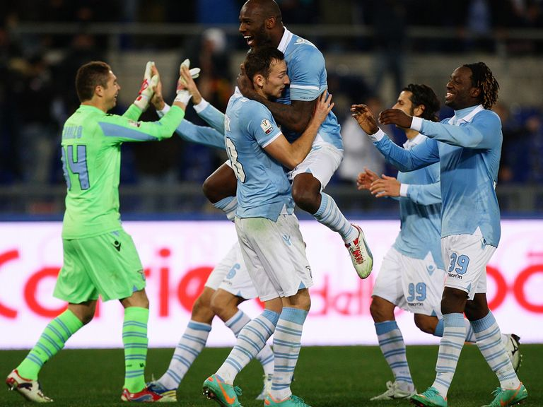 Celebrations for Lazio.