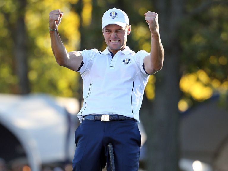 Martin Kaymer: Sweet relief