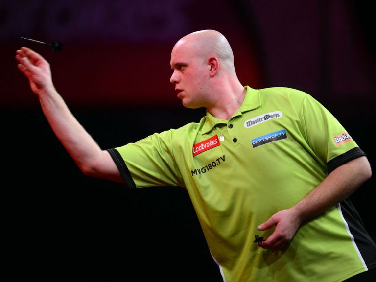 Michael van Gerwen: Hero then villain for Cheeky