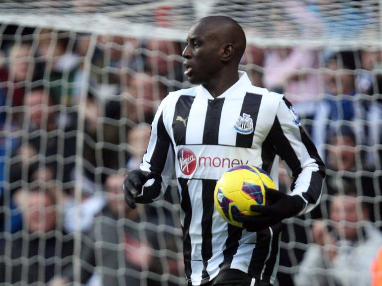 Demba Ba: Scored against Manchester City
