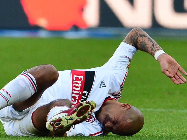 Nigel de Jong: Achilles injury
