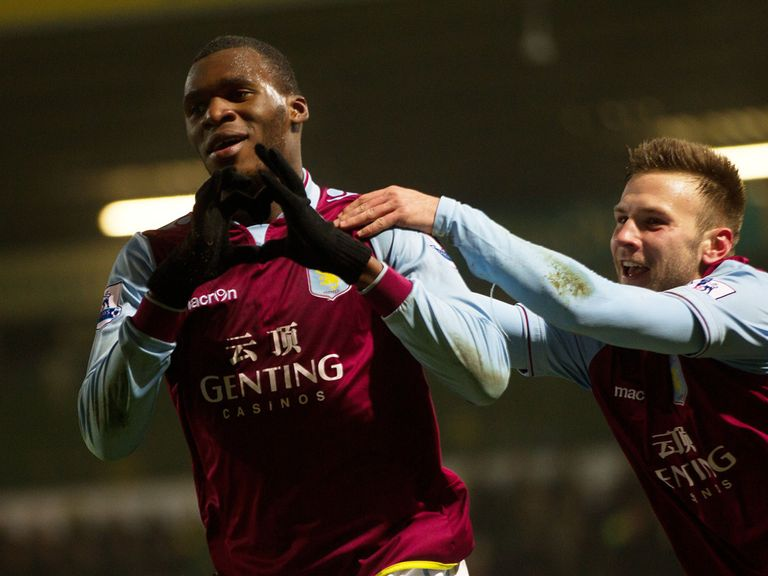 Christian Benteke: Impressing for Aston Villa
