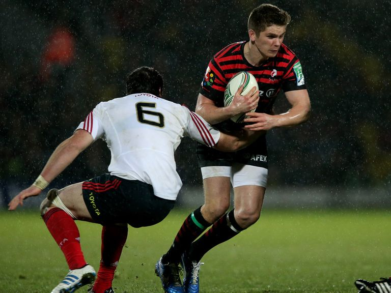 Owen Farrell: Kicked 14 points for Saracens